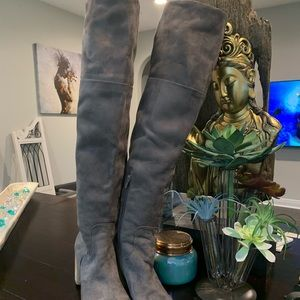 Melrose and Market over knee gray boots size 9